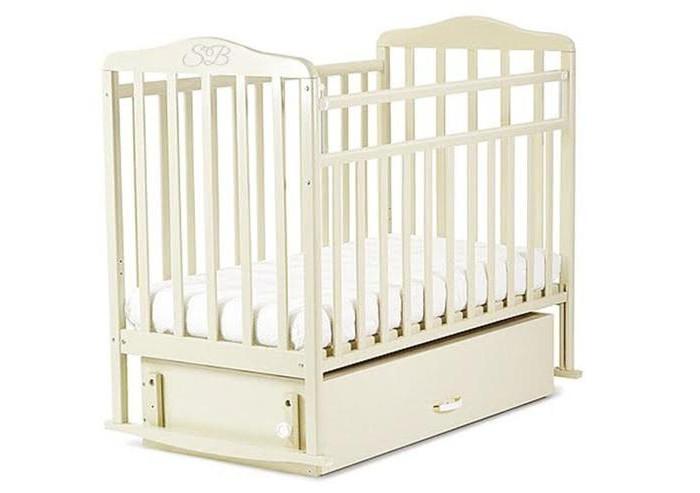 Детская кроватка Sweet Baby Luciano поперечный маятник