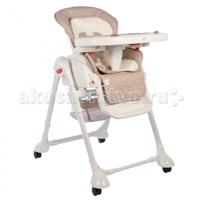 Стульчик для кормления Sweet Baby Luxor Classic колыбельLuxor Classic колыбельСтульчик для кормления Sweet Baby Luxor Classic – теперь это не просто стул для кормления, а и колыбель, в которой Ваш малыш сможет прекрасно отдохнуть.   Особенности: Новая функция делает изделие крайне удобным. Она убивает сразу двух зайцев: малышу обеспечен крепкий сон, а маме – возможность заняться чем-то параллельно. Вы с огромным удовольствием будете пользоваться стульчиком с первых дней жизни малыша и до достижения им 3-летнего возраста.  Сидение выполнено из безопасной гипоалергенной экокожи, на нем расположен мягкий вкладыш, который легко снимается. Сидение достаточно широкое и оснащено анатомическим разделителем для ножек – Вашему малышу будет очень комфортно с первых минут пребывания в нем. Спинка стульчика наклоняется в 3 позициях и имеет 5 уровней высоты – в любой момент Вы можете выбрать оптимальное положение. Максимальная высота спинки – 103 см, а максимальный угол наклона – 170°С.  Подножка имеет не только 3 угла наклона, но может удлиняться также в 3 позиции – по мере роста Вашего малыша. Поднос выполнен из прочного пластика и оборудован съемной накладкой. Поверхность легко снимается, а для удобства хранения может быть подвешена на задние ножки. Поднос фиксируется в 3 различных положениях и имеет 2 углубления под стаканчики. Уход за подносом не вызывает затруднений: Вы можете его помыть как самостоятельно, так и в посудомоечной машине. Специальная корзинка – и любимые игрушки всегда под рукой! 4 колесика делают стульчик очень маневренным, а тормоза на каждом колесике надежно его закрепляют.  5-точечный ремень безопасности фиксирует положение малыша в плечах, ножках и животике и регулируется в объеме.<br>