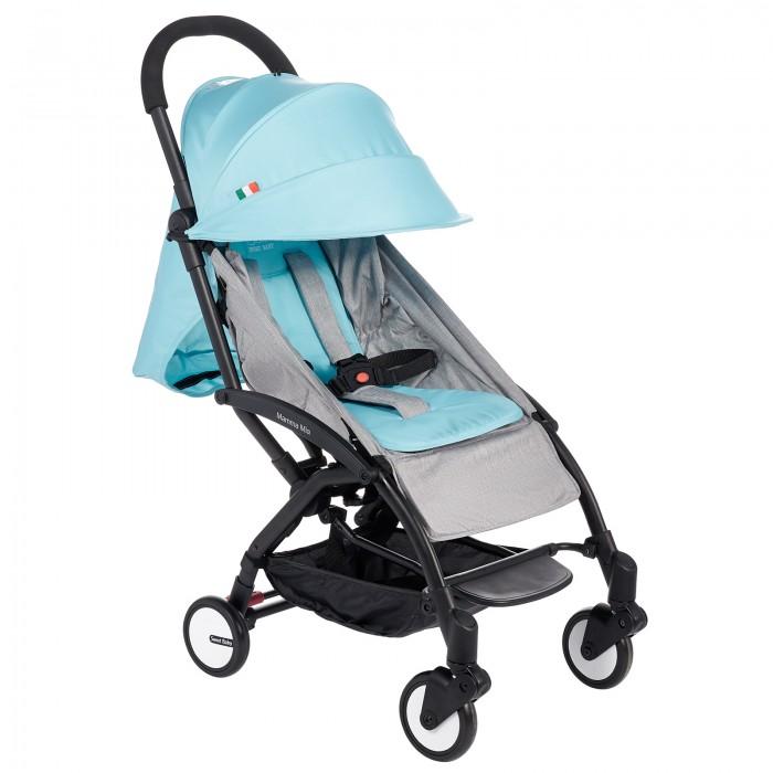Прогулочная коляска Sweet Baby Mamma MiaMamma MiaПрогулочная коляска Happy Baby Mamma Mia подарит малышу комфорт и радость прогулок, а родителям — удобство передвижения.   Особенности: Материал рамы Алюминий Легкий вес (5,8 кг) Тормоз задних колес одним касанием 360 градусов поворотные передние колеса с подвеской Позиция спинки многоступенчатая, максимально 165 градусов Имеется подножка Капюшон из ткани Оксфорд. Маленькое окошко для мамы на капюшоне, чтобы следить за ребенком. Матрасик мягкий из трикотажной ткани. Корзина Передний бампер для обеспечения безопасности ребенка. Съемный. 5ти точечный ремень безопасности Ремень плечевой для взрослого позволяет носить коляску на плече когда она сложена. Помещается в багажный отсек самолета.<br>