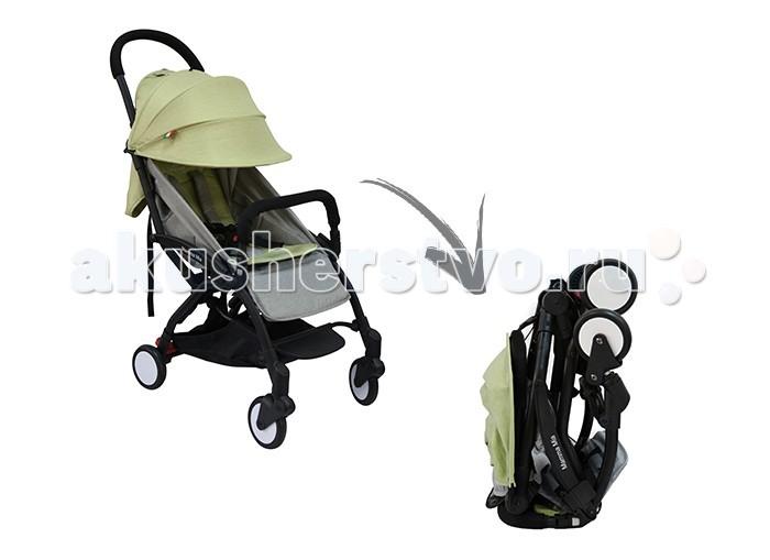 Прогулочная коляска Sweet Baby MammaMiaLinenMammaMiaLinenПрогулочная коляска Sweet Baby MammaMiaLinen является представителем круизной коллекции — она идеальна для активных родителей, путешествующих с ребенком.   Sweet Baby Mamma Mia Linen занимает минимум пространства. В сложенном положении коляска с легкостью поместится в багажном отделении самолета над головой. Вам больше не нужно будет сдавать свою коляску в «багаж» и дожидаться выдачи. Вы просто берете ее с собой в самолет и кладете в багажное отделение над своим креслом. И даже после этого там хватит места, чтобы Вы и Ваши соседи по ряду смогли разместить свои сумки.  Коляску Sweet Baby Mamma Mia Linen можно с легкостью сложить и разложить одной рукой, в чем Вам помогут удобные ремни и кнопка фиксатора. Также наша коляска является превосходным решением для любителей шоппинга, ведь в комплекте с ней идет корзинка для покупок — вместительная и просторная, доступ к ней не перекрывается даже при опущенной спинке. Сиденье просторное, мягкая подкладка и регулируемый наклон спинки создадут необходимое чувство комфорта, а сплошная ручка позволит управлять коляской одной рукой.  Особенности: облегченное шасси механизм складывания - книжка компактное складывание разрешается брать в салон самолета в сложенном виде помещается в багажном отсеке над самолетным креслом наплечный ремень для ношения коляски в сложенном виде передние поворотные колеса с фиксаторами пружинная амортизация задний ножной тормоз нерегулируемая подножка на шасси раскладывающаяся спинка (до 175 градусов) регулируемая подножка защитный сетчатый бортик в изголовье спинки 5-точечный ремень безопасности съемный бампер складной капюшон со смотровым окошком защитная шторка под капюшоном мягкий матрасик корзина для покупок в комплекте сумка для перевозки коляски  Длина спального места: 77 см Глубина сидения: 24 см Высота спинки: 38 см Ширина сидения: 33 см<br>