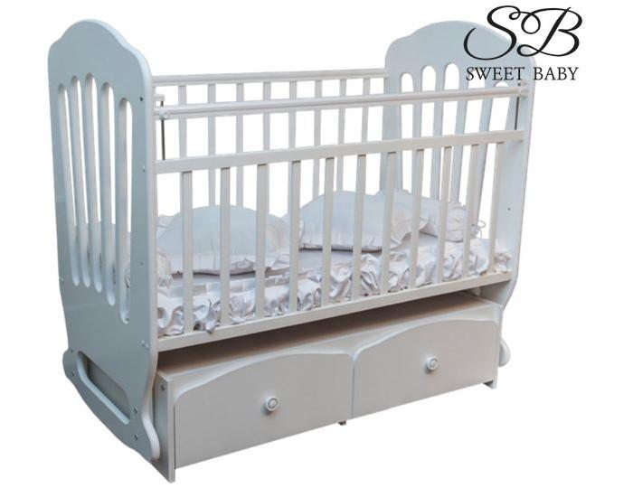 Детская кроватка Sweet Baby Sorriso поперечный маятник