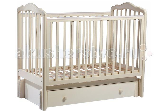 Детская кроватка Sweet Baby Tesoro II маятник универсальныйTesoro II маятник универсальныйДетская кроватка Sweet Baby Tesoro II маятник универсальный станет настоящим украшением детской.   Модель выполнена в изысканном дизайне с изгибистыми линиями. Древесина детской кроватки Sweet Baby Tesoro II очень ровная и однородная, что обеспечивает превосходный внешний вид действительно качественного изделия. Модель отличается тем, что предусмотрен и продольный и поперечный маятник.   Материалы: массив бука Ложе: двухуровневое 1200х600 мм Маятник поперечный: есть Маятник продольный: есть Ящик: есть Опускная боковина + съемные рейки Механизм опускания: курок Накладка ПВХ: есть<br>
