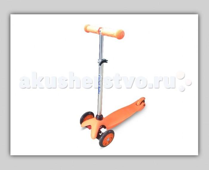 Трехколесный самокат Sweet Baby Triplex Bright UpTriplex Bright UpSweet Baby Трехколесный самокат Triplex Bright Up для детей в возрасте от 1,5 года и до 6 лет включительно, а максимальный допустимый вес составляет 40 кг. У самоката большие передние колёса диаметром 12 см и заднее маленькое колесо размером 8 см, которые сделаны из литого полиуретана. Рукоятки выполнены из приятного прорезиненного материала, что исключает их возможность выскальзывания из рук.   Управлять самокатом Triplex Bright очень просто – достаточно наклонить руль туда, куда Вы хотите поехать. Если Ваш ребенок любит активно проводить время, то самокат ему, несомненно, понравится. Помимо впечатлений и эмоций от катания, ребенок научится координировать свои движения и держать равновесие.<br>