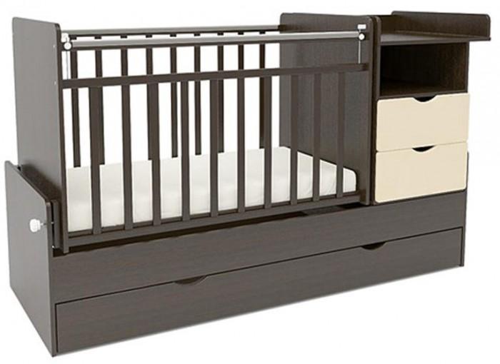 Кроватка-трансформер Sweet Baby Valentino (поперечный маятник)