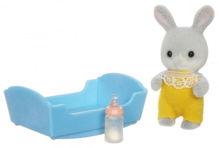 Игровые наборы Sylvanian Families Игровой набор Малыш Серый Кролик игровой набор sylvanian families мама кролик и холодильник 2202