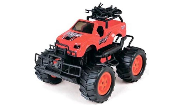 Машины Taiko Джип с большими колесами на радиоуправлении машины tomy john deere трактор monster treads с большими колесами и вибрацией