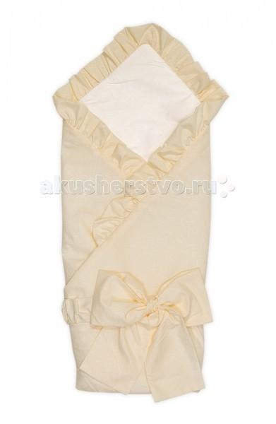 Конверты на выписку Тайна Снов Конверт-одеяло на выписку Ваниль конверт на выписку балу лежебока желтый кремовый осень ш160