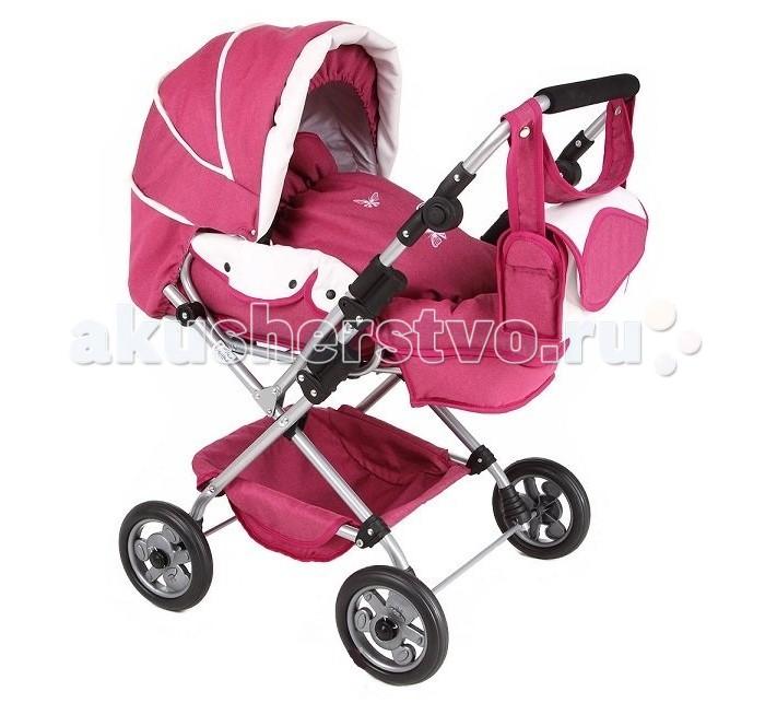 Коляска для куклы Tako WL4WL4Коляска для кукол Тако WL4 – это как раз тот вариант коляски, о котором мечтает любая девочка. Коляска максимально точно воспроизводит конструкцию и комплектацию колясок для детей.  Характеристики коляски: Легко и удобно трансформируется в прогулочную коляску. Ручка перекидная и регулируется по высоте. Регулируемая спинка и подножка. Складной капор. Пластиковые прорезиненные колёса. Удобная вместительная сумка. Конверт для куклы (люлька-переноска). Вместительная корзина для игрушек. Ткань непромокаемая, легко снимается и чистится.  Размеры коляски: 43х80х80 см. Диаметр колес: 16 см.<br>