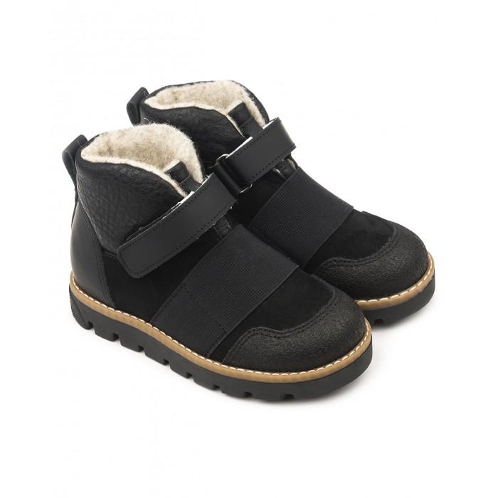 Ботинки Tapiboo Ботинки детские кожаные утепленные 23009 ботинки tapiboo размер 35 хаки