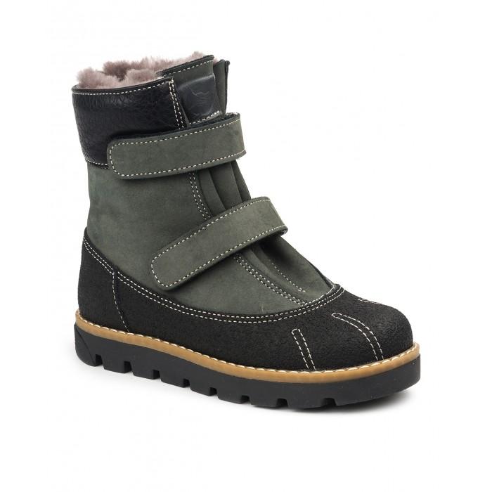 Tapiboo Ботинки детские мех кожаные 23010 FT-23010.17-FL