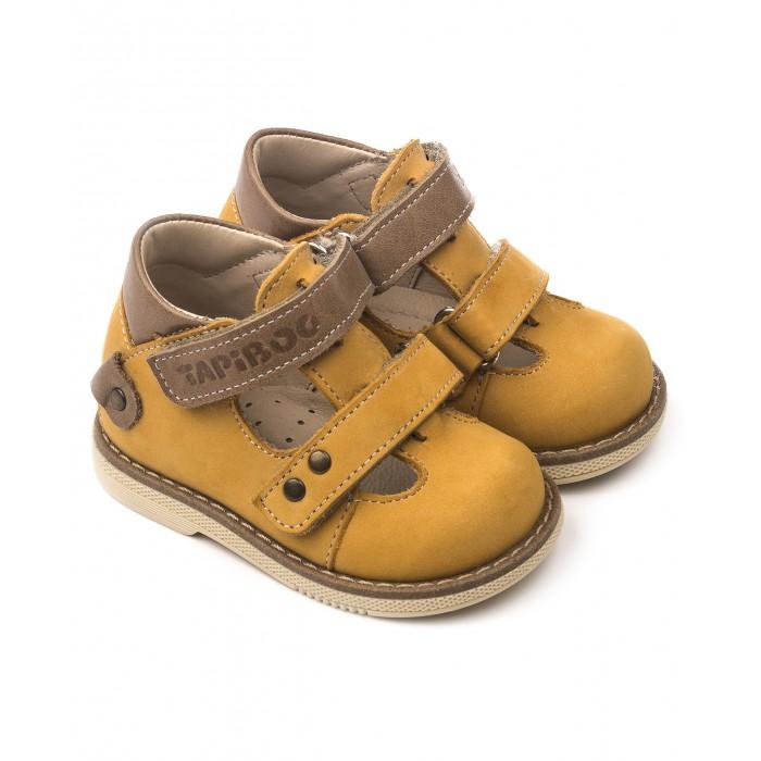 Купить Босоножки и сандалии, Tapiboo Сандалии кожаные детские 25014