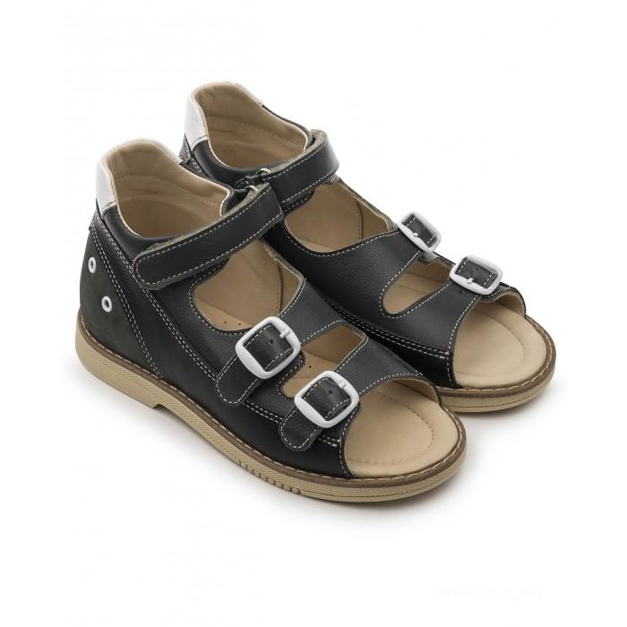 Купить Босоножки и сандалии, Tapiboo Сандалии кожаные детские 26014