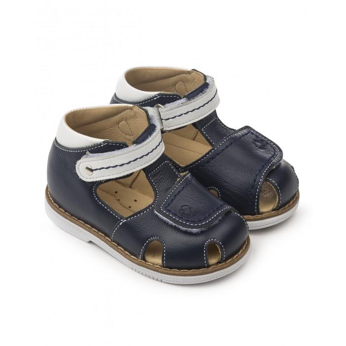 Купить Босоножки и сандалии, Tapiboo Сандалии кожаные детские 26021
