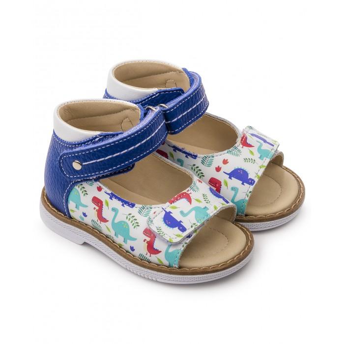 Купить Босоножки и сандалии, Tapiboo Сандалии кожаные детские Хобби 26011