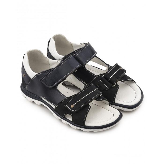 Босоножки и сандалии Tapiboo Сандалии кожаные детские Ирис 26017 сандалии для мальчика tapiboo ирис цвет синий ft 26022 19 ol08o 01 размер 31