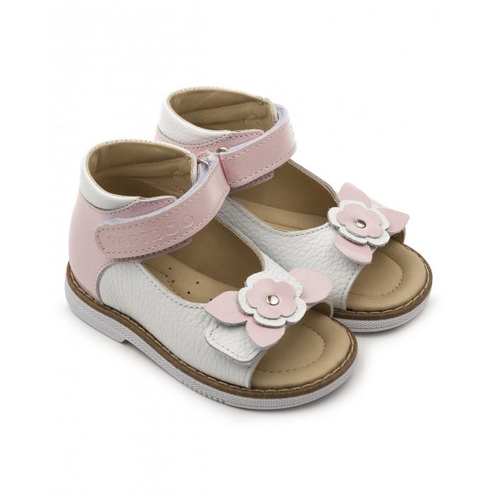 Купить Босоножки и сандалии, Tapiboo Сандалии кожаные детские Лилия 26011