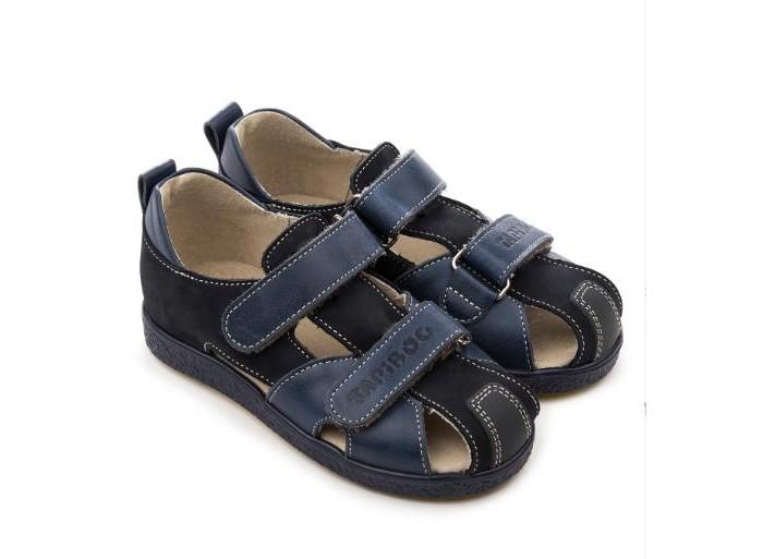 Купить Босоножки и сандалии, Tapiboo Сандалии кожаные детские Лён 26018