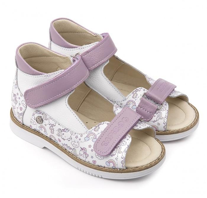 Купить Босоножки и сандалии, Tapiboo Сандалии кожаные детские Лошадки 26025