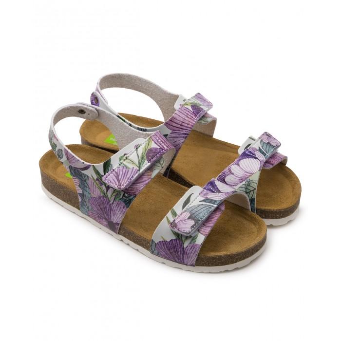 Купить Босоножки и сандалии, Tapiboo Сандалии кожаные детские Магнолия 96002