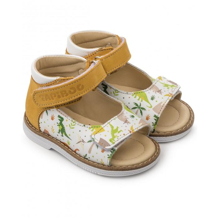 Босоножки и сандалии, Tapiboo Сандалии кожаные детские Нарцисс 26011  - купить со скидкой
