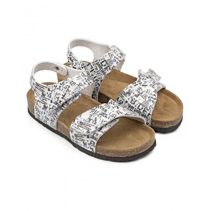 Купить Босоножки и сандалии, Tapiboo Сандалии кожаные детские Пресса 96002