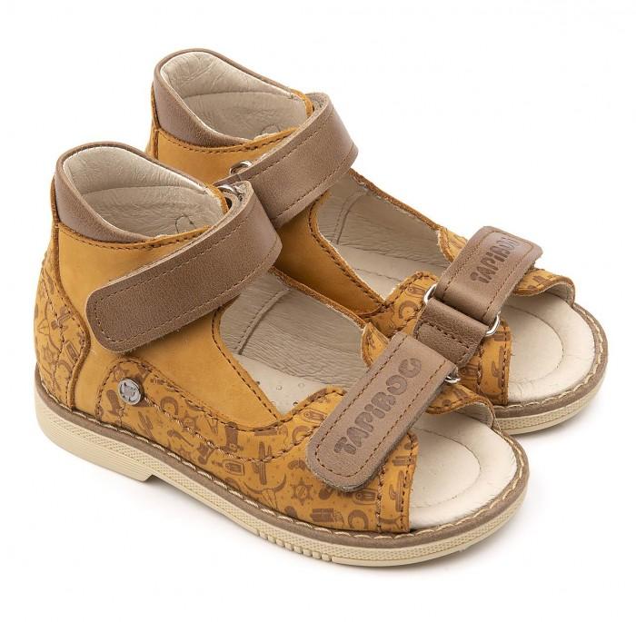 Купить Босоножки и сандалии, Tapiboo Сандалии кожаные детские Техас 26025