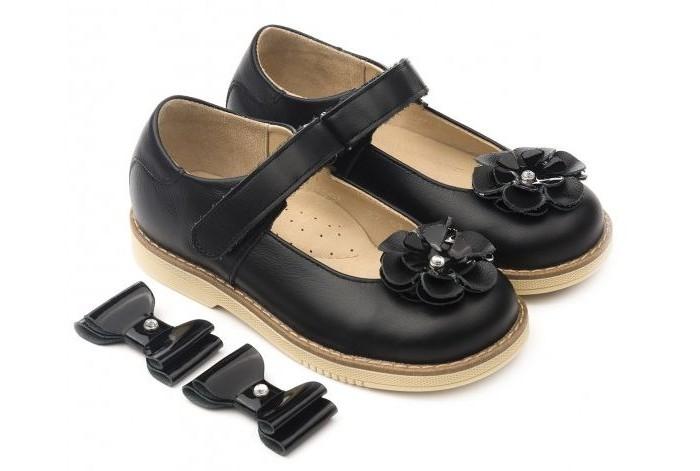 Tapiboo Туфли кожаные детские 25009 две декоративные детали