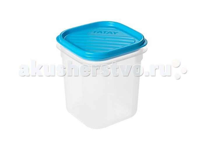 Контейнеры Tatay Пищевой контейнер квадратный 0.7 л контейнер пищевой вакуумный bekker квадратный 2 28 л