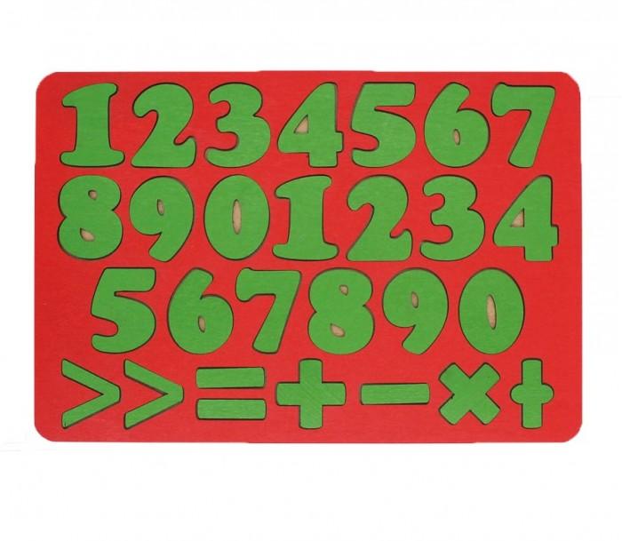 Деревянные игрушки Tau Toy Обучающий набор Арифметика 27 знаков 28х19 см
