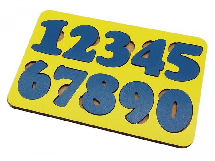 Деревянные игрушки Tau Toy Обучающий набор Цифры 10 знаков 20х14 см