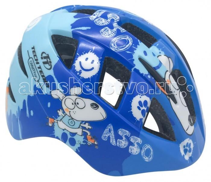 Шлемы и защита Tech Team Шлем детский Gravity 100 комплект защиты tech team comfort new m te 113m black