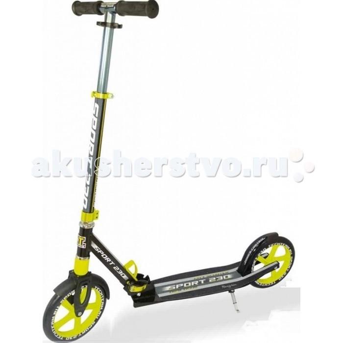 Детский транспорт , Двухколесные самокаты Tech Team TT 230 Sport арт: 401204 -  Двухколесные самокаты
