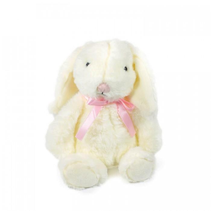 Картинка для Мягкие игрушки Teddykompaniet Кролик Агнес с бантом 19 см