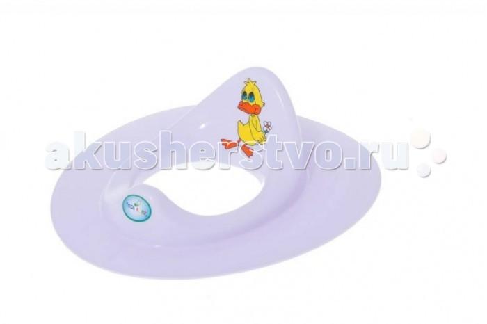 Сиденья для унитаза Tega Baby Сиденье для унитаза Balbinka Утенок сиденья для унитаза tega baby накладка на унитаз мишка нескользящая