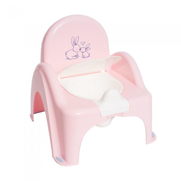 Горшки Tega Baby стульчик Кролики музыкальный с антискользящими ножками