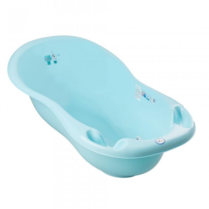 детские ванночки Детские ванночки Tega Baby Ванна Кот и Пес со сливом 102 см