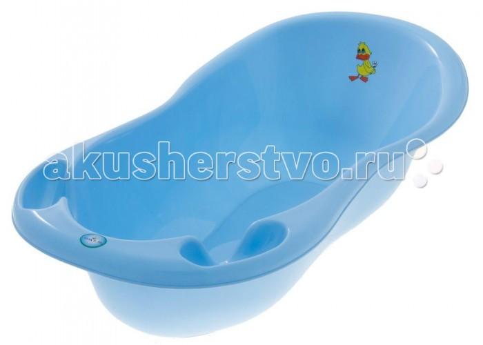 Детские ванночки Tega Baby Ванна детская Balbinka Утенок 86 см без слива