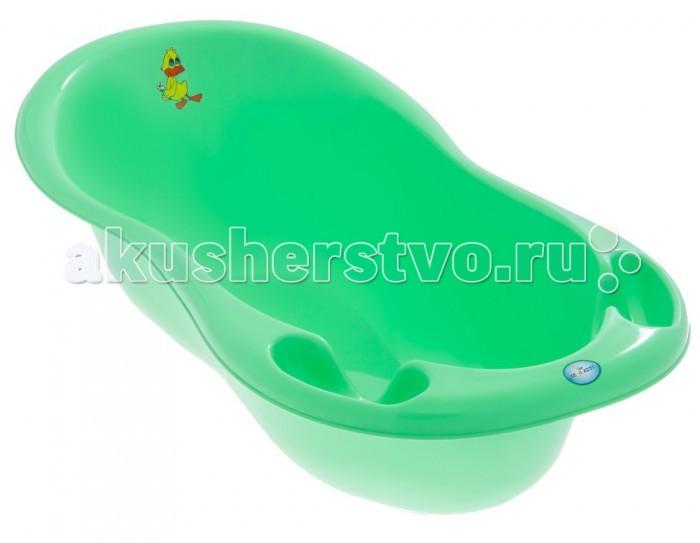 Детские ванночки Tega Baby Ванна детская Balbinka Утенок со сливом 102 см easy jane yijian baby baby baby шарж шампунь крышка детская ванна крышка для душа yp7