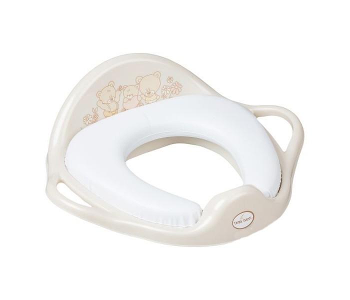 Сиденья для унитаза Tega Baby Накладка на унитаз Мишка мягкая сиденья для унитаза tega baby накладка на унитаз мишка нескользящая