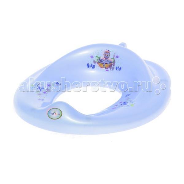 Сиденья для унитаза Tega Baby Накладка на унитаз Осьминог сиденья для унитаза tega baby накладка на унитаз мишка нескользящая