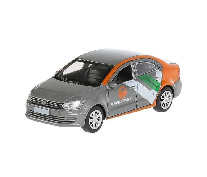 Машины Технопарк Инерционная машина Volkswagen Polo Каршеринг технопарк машинка технопарк volkswagen polo спорт 12 см