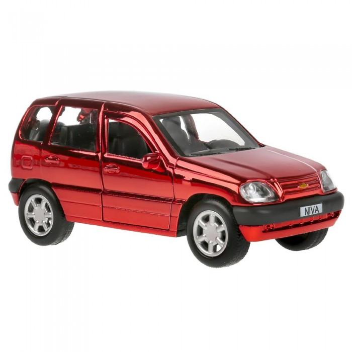 Технопарк Машина металлическая Chevrolet Niva Хром 12 см