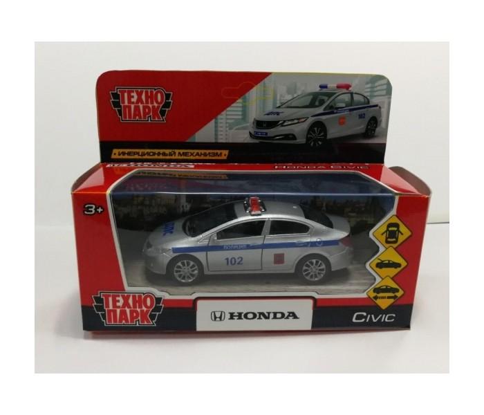 Машины Технопарк Машина металлическая Honda Civic Полиция 12 см