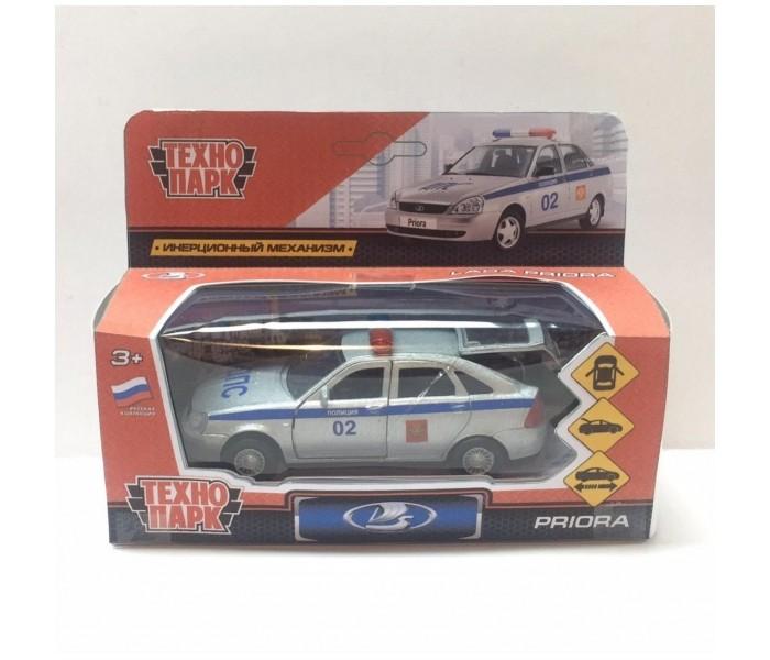 Машины Технопарк Машина металлическая Lada Priora хэтчбек полиция 12 см машины технопарк машина lada granta полиция