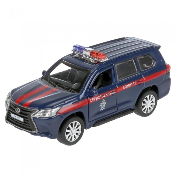 Технопарк Машина металлическая Lexus LX-570 Следственный комитет 12 см