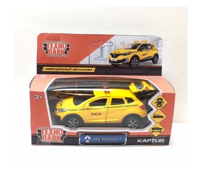Картинка для Машины Технопарк Машина металлическая Renault Kaptur такси 12 см