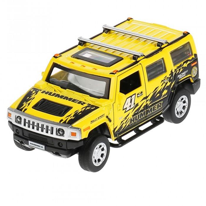 Технопарк Машина металлическая со светом и звуком Hummer H2 Спорт