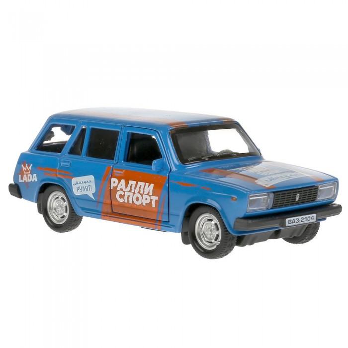 Технопарк Машина металлическая ВАЗ-2104 Жигули Спорт 12 см