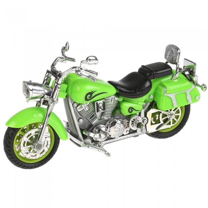 Технопарк Металлический мотоцикл Крузер 14.5 см