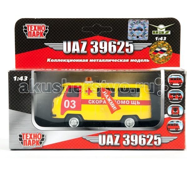 Машины Технопарк Машина Уаз Скорая помощь автомобиль уаз 469 в спб